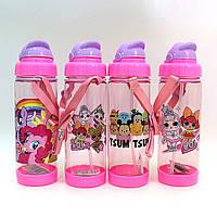 4965DSCN Детская бутылка для воды Дисней Пони  Лол Tsum Tsum 500 мл для девочки