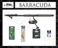 Набор №118 удочка для ловли хищника - щуки окуня судака! 2.7 метра и тест 30-60! спиннинг!