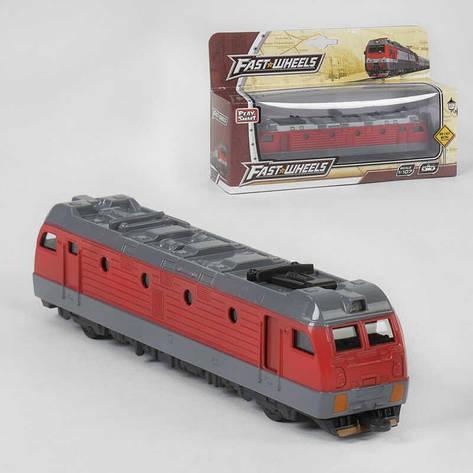 Поїзд металопластик 6587 (80) в коробці, фото 2