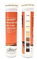Смужки тестові на пероксид до 1000 ppm JTP J-QUANT Peroxide 1000