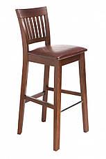 Стул барный деревянный со спинкой  Райнес  GOOD WOOD Рускополянский Мебельный Комбинат Явир, фото 3