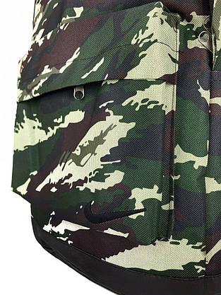 Рюкзак городской мужской, женский, для ноутбука Nike (Найк) камуфляж темный, фото 3