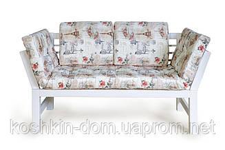 Кухонный диван Соло из натурального дерева
