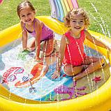 Детский надувной бассейн Intex 57156 «Радуга», (147 х 130 х 86 см), фото 3