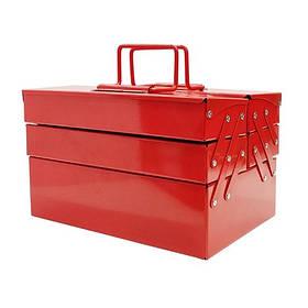 Ящик для инструментов металлический  540мм 5 отсеков (ХЗСО) MTB540-5