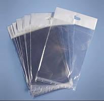 Пакет с еврослотом и липкой лентой для упаковки фольги 130х180 мм (100 штук)