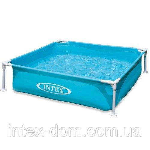 Каркасный бассейн Intex 57173, (122 х 122 х 30 см)