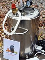 Автоклав электрический  ЛЮКС - 14Э для домашнего консервирования  из нержавеющей стали