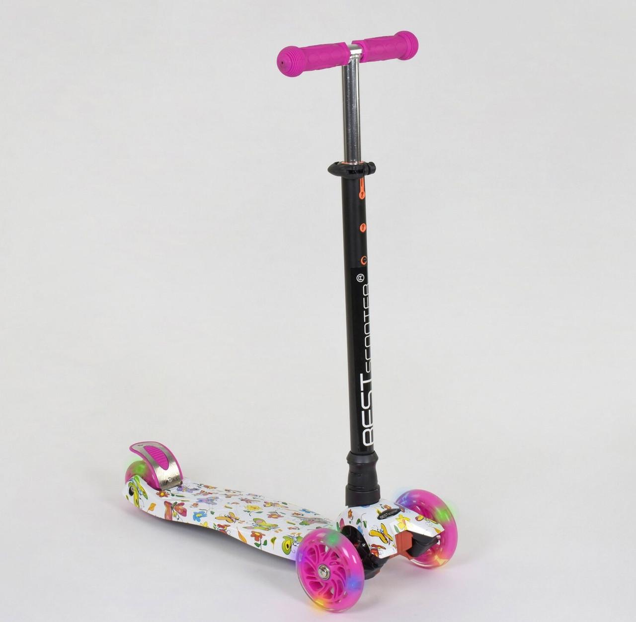 Самокат Best scooter MAXI граффити 1396