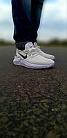 Мужские белые кроссовки найк Nike Foam