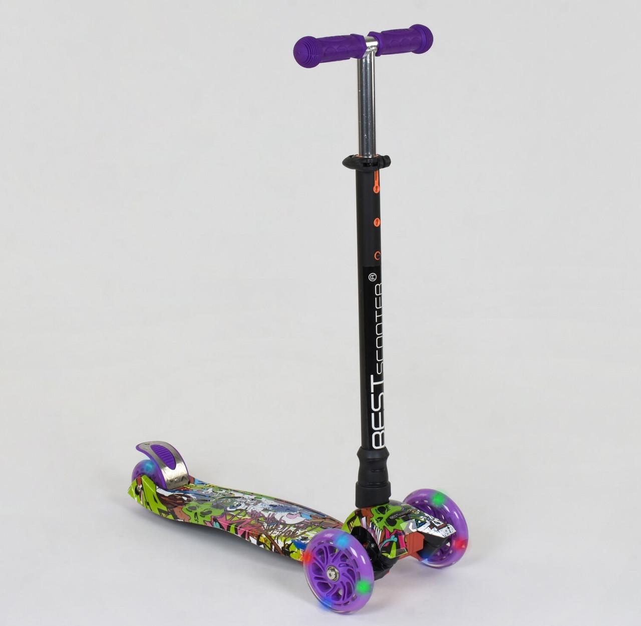 Самокат Best scooter MAXI граффити А 24646 /779-1390