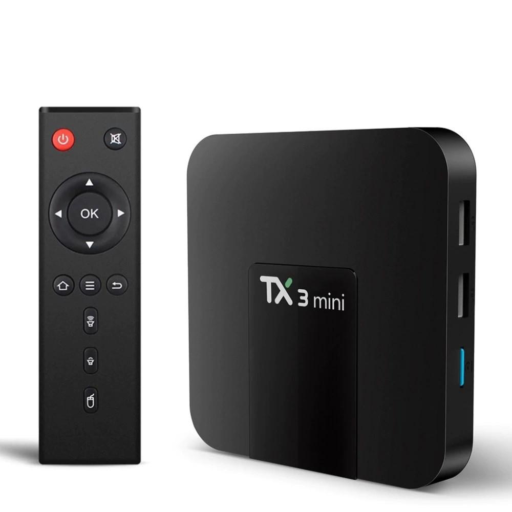 Tanix TX3 Mini 2/16, S905W, BT+WIFI 5, Smart TV Box, Смарт ТВ Приставка (+ Налаштування)