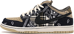 Мужские кроссовки Nike Travis Scott x SB Dunk Low CT5053-001, Найк Тревис Скотт СБ Данк