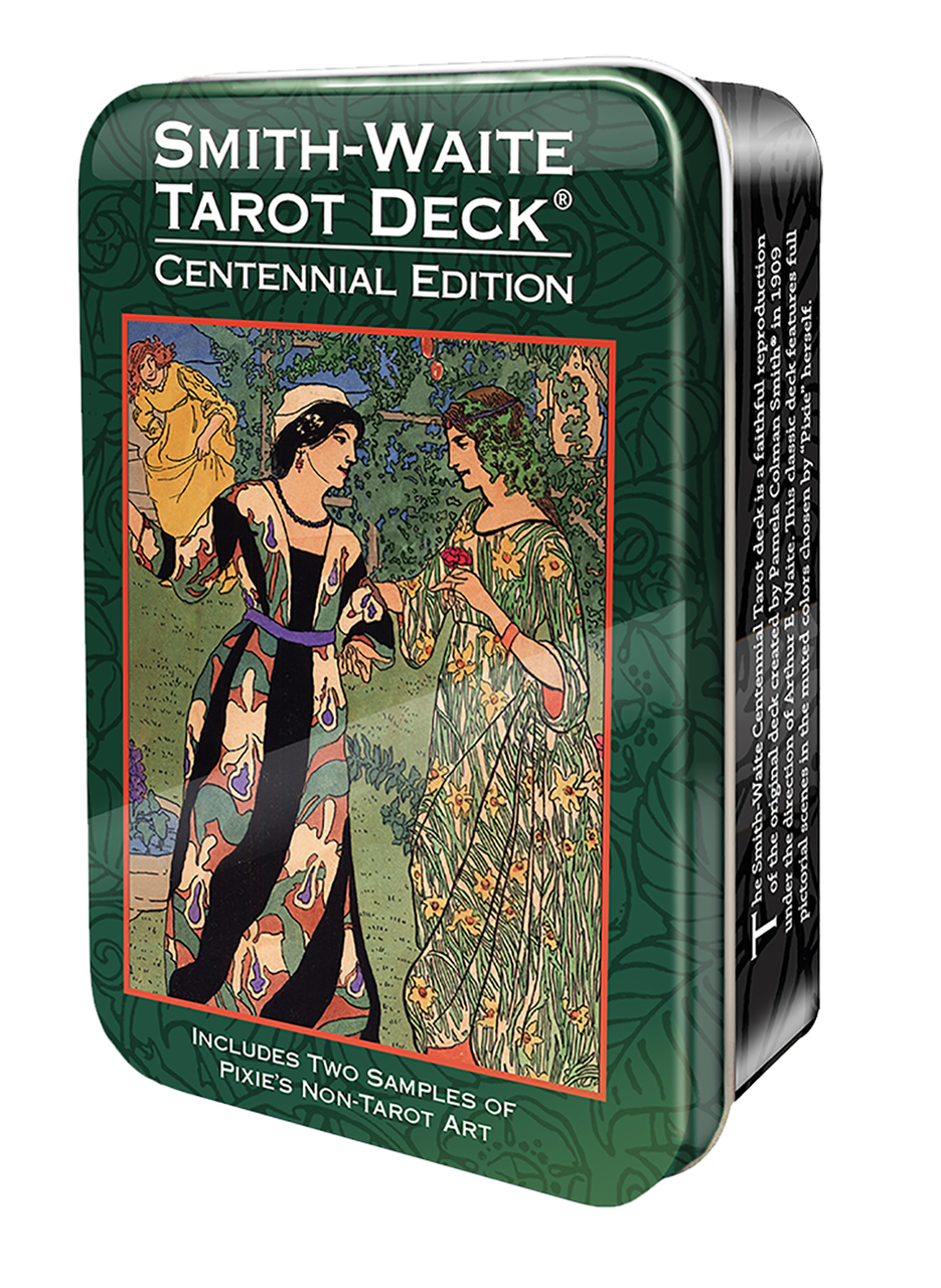 Smith-Waite Tarot Deck in a Tin/ Таро Уэйта-Смит