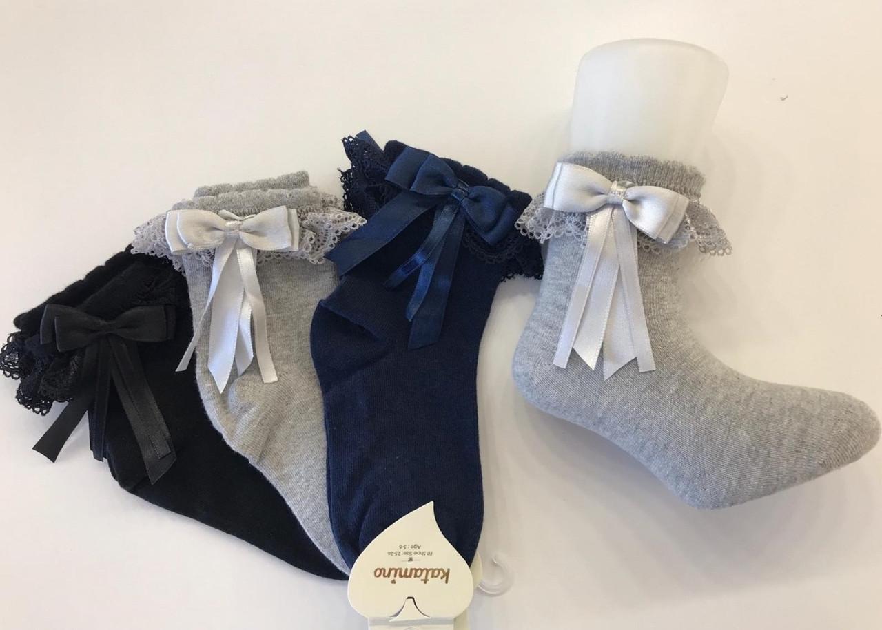 Бавовняні шкарпетки для дівчаток 5-6 років ТМ Katamino 54896127741551