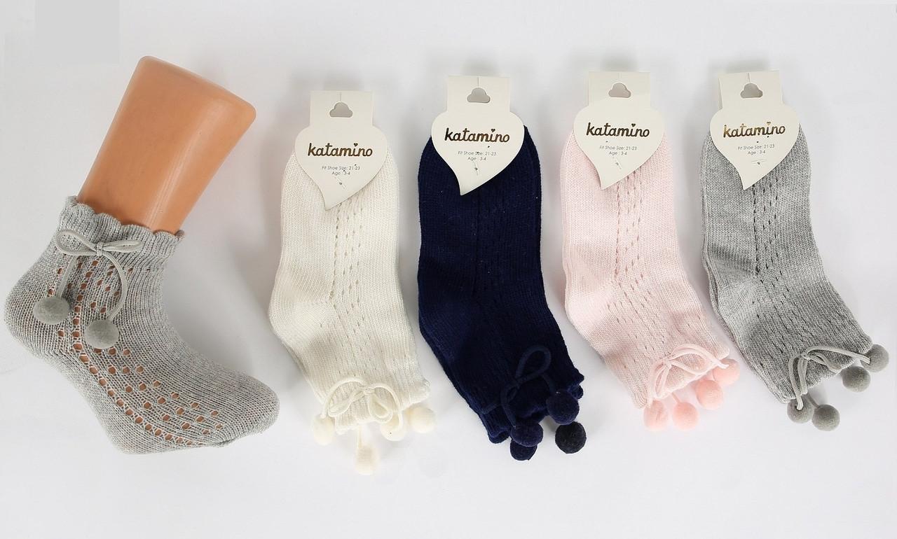 Хлопковые носки для девочек 7-8 лет ТМ Katamino 54896127741543