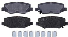 Колодки тормозные задние FERODO D1274FE DODGE NITRO R/T DODGE NITRO SE JEEP LIBERTY LIMITED
