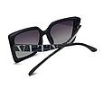 Женские солнцезащитные очки Valentino (2919) black, фото 2