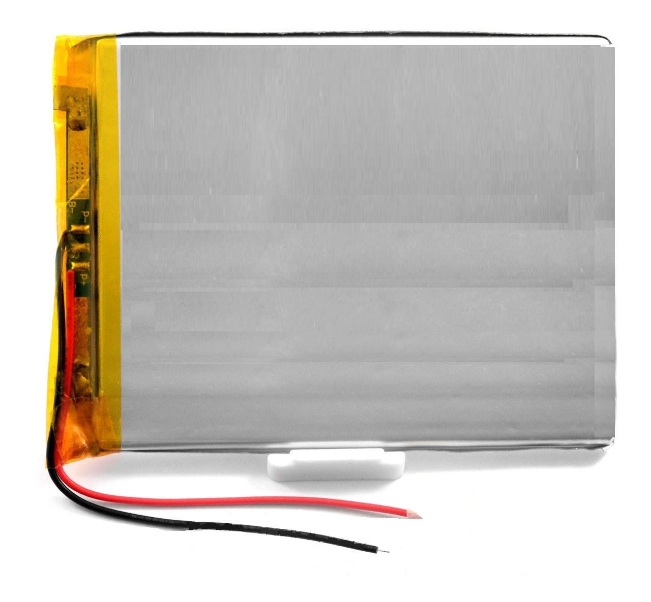 Оригинальный Универсальный Внутренний Аккумулятор АКБ 3077100P 104*79*3, 2 pin (Li-ion 3.7V 4000mAh)