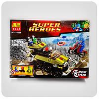 """Конструктор Super Heroes """"Капитан Америка против Гидры"""", фото 1"""