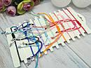 Браслеты плетеные Знаки Зодиака цветные 12 шт/уп., фото 2