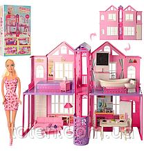 Домик для кукол барби  сборный DEFA 8440-BF