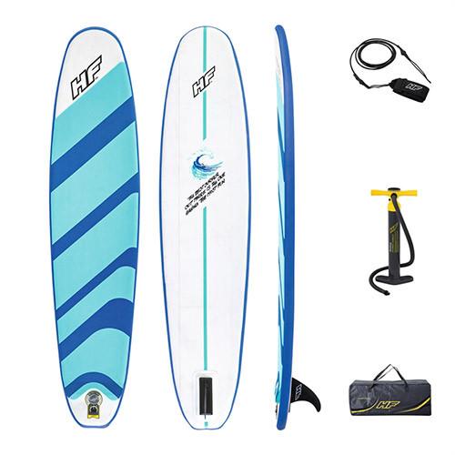 SUP-борд Bestway 65336 надувная доска пляжная 243-57-7 см сап борд