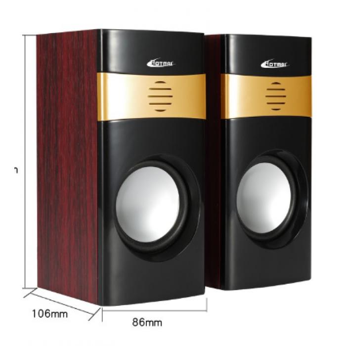 Компьютерные деревянные колонки акустика Hotmai A12