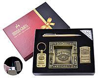 Подарочный набор Jack Daniels (Джек Дениелс) с пепельницей, зажигалкой брелком и ручкой
