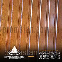 """Профнастил СМ-15  крашенный  0,4 мм цвет """"золотой дуб"""" в Херсоне, фото 3"""