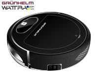 ⭐ Робот-пылесос GRUNHELM GRVC-T1000 -  2600 мА*ч - сухая и влажная уборка - мобильное приложение
