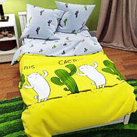 Семейное постельное белье БЯЗЬ 100% хлопок 14528