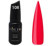 Гель-лак Edlen Professional № 108, 9 мл, малиновый сироп