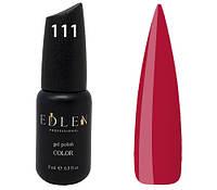 Гель-лак Edlen Professional № 111, 9 мл, ягодно-розовый
