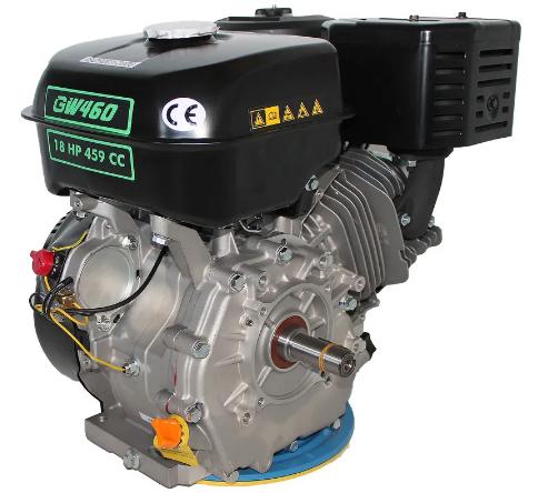 Двигатель GrunWelt GW460F-S +БЕСПЛАТНАЯ ДОСТАВКА! (18 л.с., шпонка)