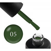 Гель-лак COUTURE Colour Limited Edition № 005, густой зеленый, 9 мл
