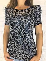 Футболка жіноча леопард Асорті АА7923
