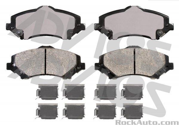 Колодки тормозные передние ABE D1273ABE CHRYSLER TOWN & COUNTRY DODGE GRAND CARAVAN C/V DODGE GRAND CARAVAN SE