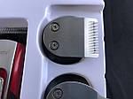 Професійна машинка для стрижки волосся і бороди Gemei GM-592 10-в-1, фото 7
