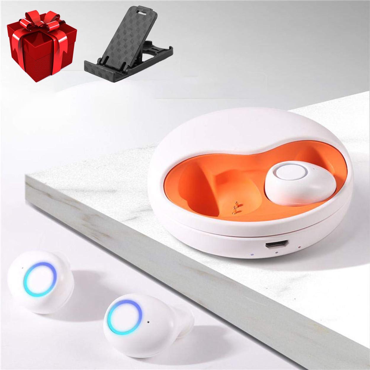 Беспроводные наушники блютуз наушники Wi-pods К15 (К10) Bluetooth 5.0 новая версия К10. Белые ОРИГИНАЛ