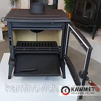 Чугунная печь KAWMET Premium S11 (8,5 kW), фото 3