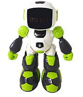 Робот на радиоуправлении 616-1, бело-зеленый