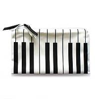 Косметичка ZIZ Пианино Черно-белый (23158)
