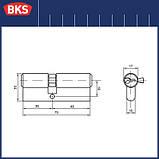 Сердцевина замка BKS 30-40 серия B (Германия), фото 2