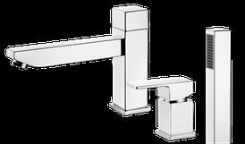 Змішувач для ванни Deante SAVORY на три отвори