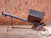 Шнековый транспортер с ворошителями, дозатор