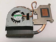 Б/У Радиатор (система охлаждения) + вентилятор (кулер) для ноутбука Lenovo IdeaPad G580 N580 AT0N1003SS0