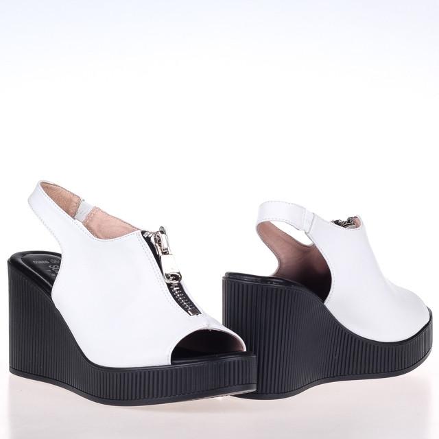 Белые женские Босоножки  Summergirl D386B WHITE KOGA ЛЕТО 2020 /// D616