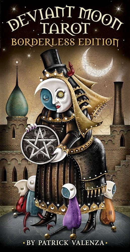 Deviant Moon Tarot Borderless/ Таро Безумной Луны безрамочное
