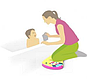 Коврик для купания Baby ono 897, фото 2